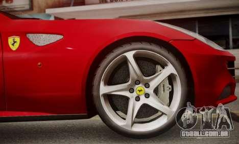 Ferrari FF 2012 para GTA San Andreas vista traseira