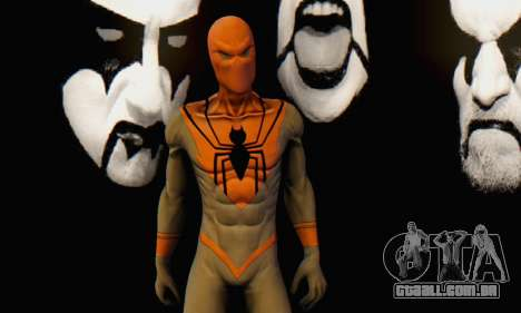 Skin The Amazing Spider Man 2 - Suit Assasin para GTA San Andreas sexta tela