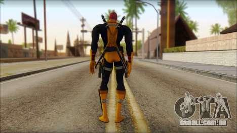Xmen Deadpool The Game Cable para GTA San Andreas segunda tela