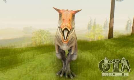 Carnotaurus para GTA San Andreas terceira tela
