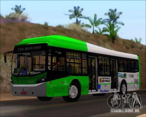 Caio Induscar Millennium BRT Viacao Gato Preto para GTA San Andreas esquerda vista