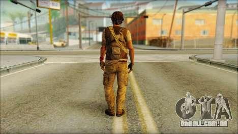 Adam (Eu Estou Vivo) para GTA San Andreas segunda tela