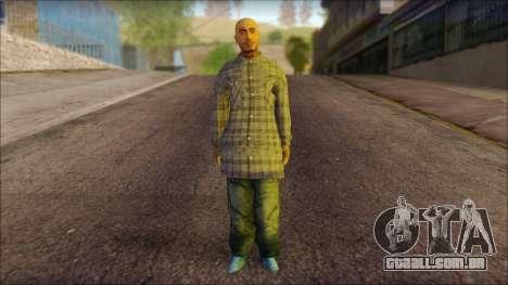 Los Aztecas Gang Skin v1 para GTA San Andreas