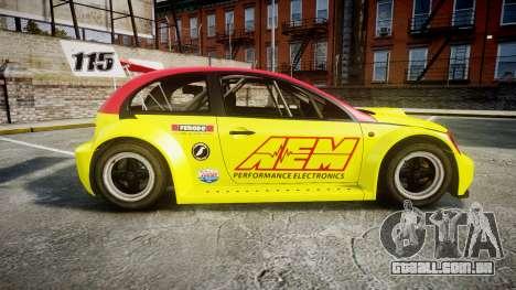 Zenden Cup AEM para GTA 4 esquerda vista