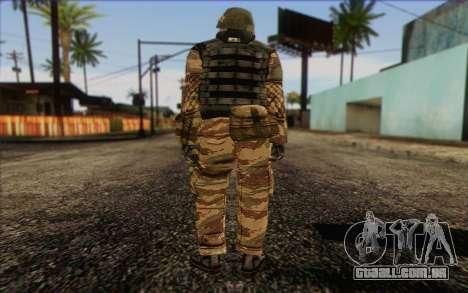 Soldados MEK (Battlefield 2) Pele 1 para GTA San Andreas segunda tela