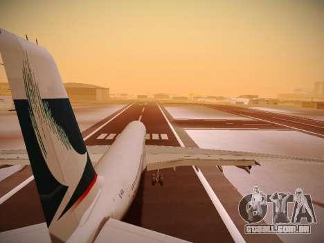 Airbus A340-300 Cathay Pacific para GTA San Andreas