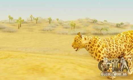Leopard (Mammal) para GTA San Andreas por diante tela