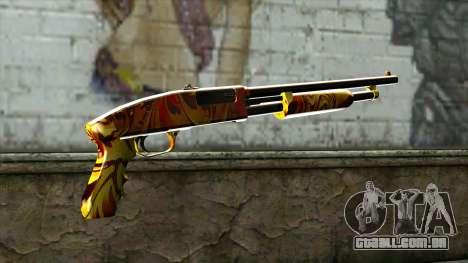 Dash Shotgun para GTA San Andreas segunda tela