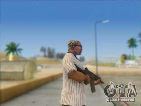 Israelenses carabina ÁS 21 para GTA San Andreas quinto tela