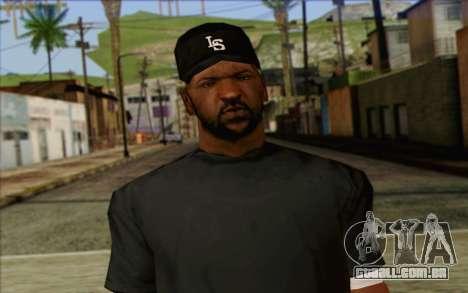 N.W.A Skin 4 para GTA San Andreas terceira tela