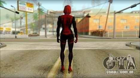Mass Effect Anna Skin v3 para GTA San Andreas segunda tela