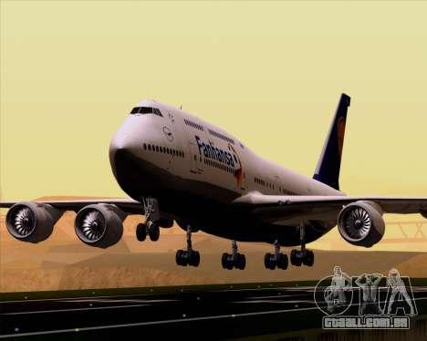 Boeing 747-830 Lufthansa - Fanhansa para GTA San Andreas