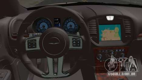 Chrysler 300C 2011 para GTA San Andreas traseira esquerda vista