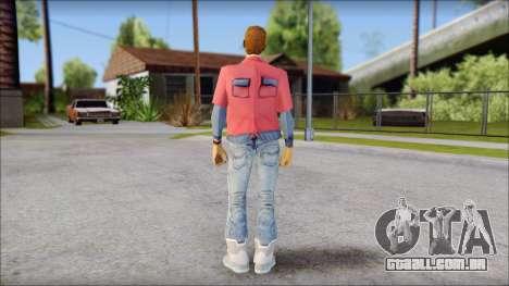 Marty with No Hat 2015 para GTA San Andreas segunda tela