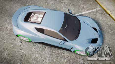 Zenvo ST1 2010 para GTA 4 vista direita