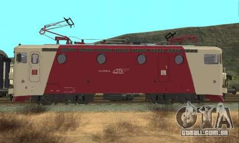 Le 3400Kw para GTA San Andreas vista direita