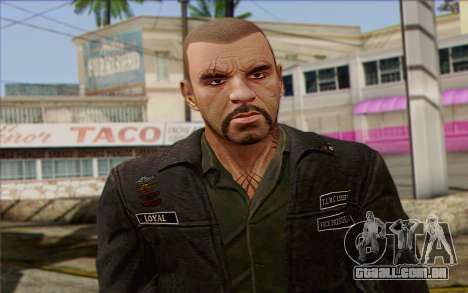 Johnny Klebitz From GTA 5 para GTA San Andreas terceira tela