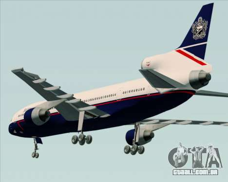 Lockheed L-1011 TriStar British Airways para GTA San Andreas vista direita