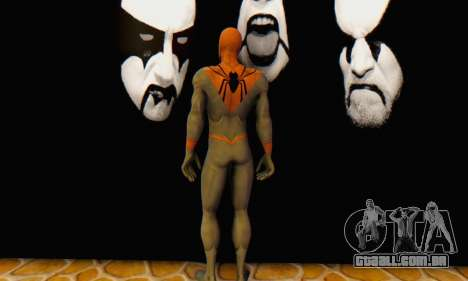Skin The Amazing Spider Man 2 - Suit Assasin para GTA San Andreas por diante tela