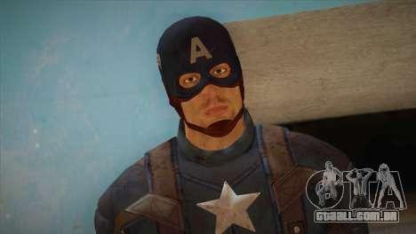 Captain America v1 para GTA San Andreas terceira tela
