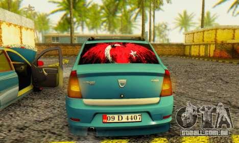 Dacia Logan 1.6 MPI Tuning para GTA San Andreas vista direita