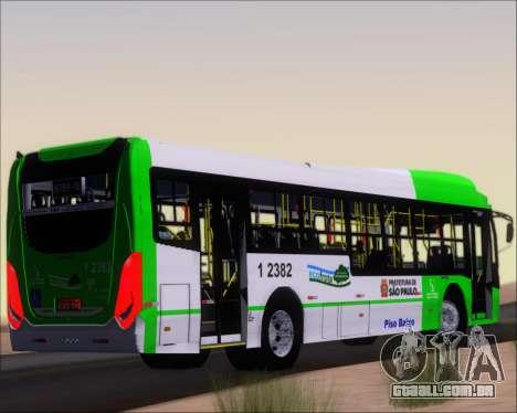 Caio Induscar Millennium BRT Viacao Gato Preto para GTA San Andreas vista direita