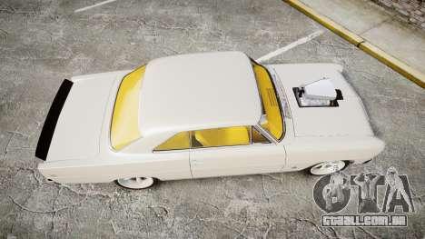 Chevrolet II Nova SS 1966 Custom [EPM] para GTA 4 vista direita