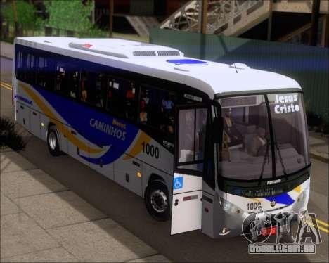Marcopolo Ideale 770 - Volksbus 17-230 EOD para GTA San Andreas vista superior
