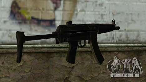 TheCrazyGamer MP5 para GTA San Andreas segunda tela
