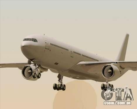 Airbus A330-300 Full White Livery para GTA San Andreas