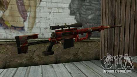 Sniper Rifle from PointBlank v3 para GTA San Andreas segunda tela