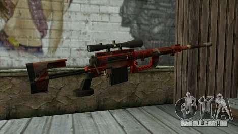 Sniper Rifle from PointBlank v3 para GTA San Andreas segunda tela