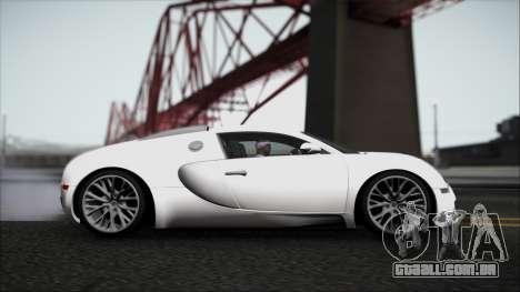 Bugatti Veyron 16.4 para GTA San Andreas esquerda vista