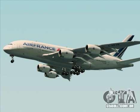 Airbus A380-861 Air France para GTA San Andreas