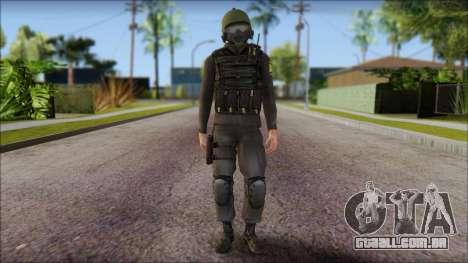 Australian Soldier para GTA San Andreas