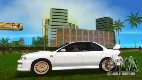 Subaru Impreza WRX STI GC8 Sedan Type 3 para GTA Vice City vista direita