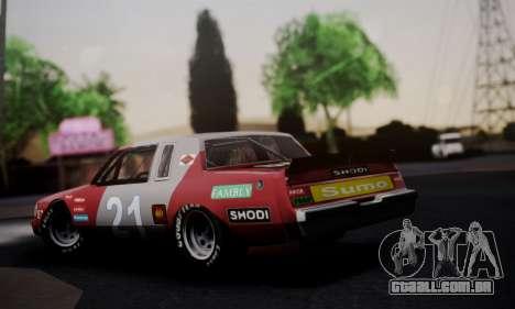 Buick Regal 1983 para GTA San Andreas esquerda vista