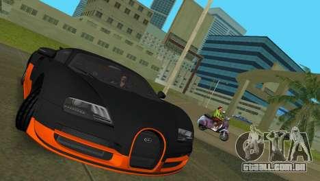 Bugatti Veyron Super Sport para GTA Vice City