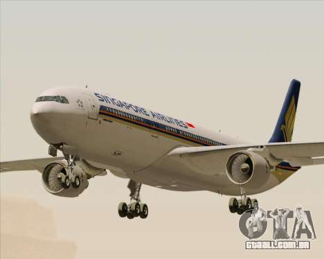 Airbus A330-300 Singapore Airlines para GTA San Andreas