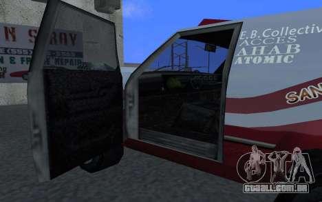 Atualizado Sandking para GTA San Andreas esquerda vista