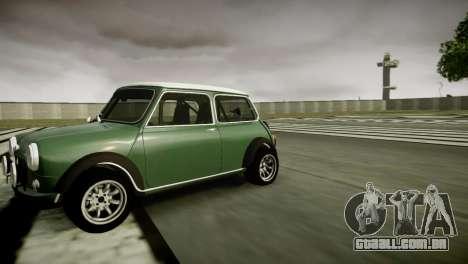 Mini Cooper RWD para GTA 4 esquerda vista