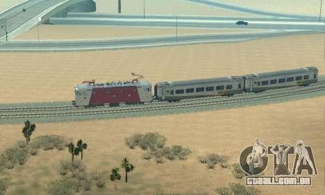 Le 3400Kw para GTA San Andreas vista interior