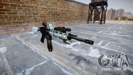 Automatic rifle Colt M4A1 crânios para GTA 4