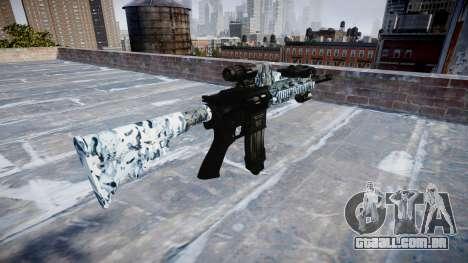 Automatic rifle Colt M4A1 crânios para GTA 4 segundo screenshot