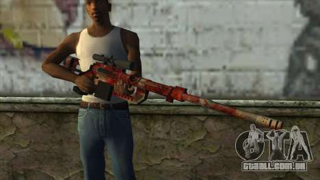 Sniper Rifle from PointBlank v3 para GTA San Andreas terceira tela