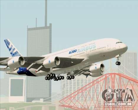 Airbus A380-861 para as rodas de GTA San Andreas