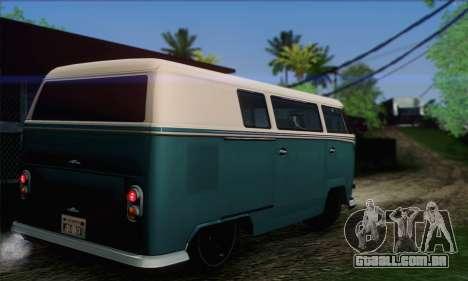 GTA V Surfer para GTA San Andreas esquerda vista