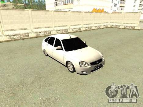 Lada 2172 Priora para GTA San Andreas