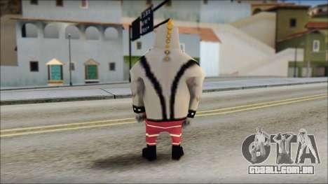 Bully from Sponge Bob para GTA San Andreas segunda tela