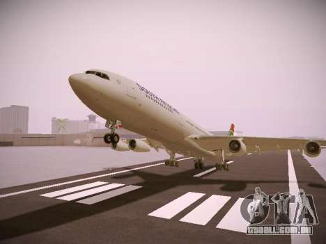 Airbus A340-300 South African Airways para GTA San Andreas
